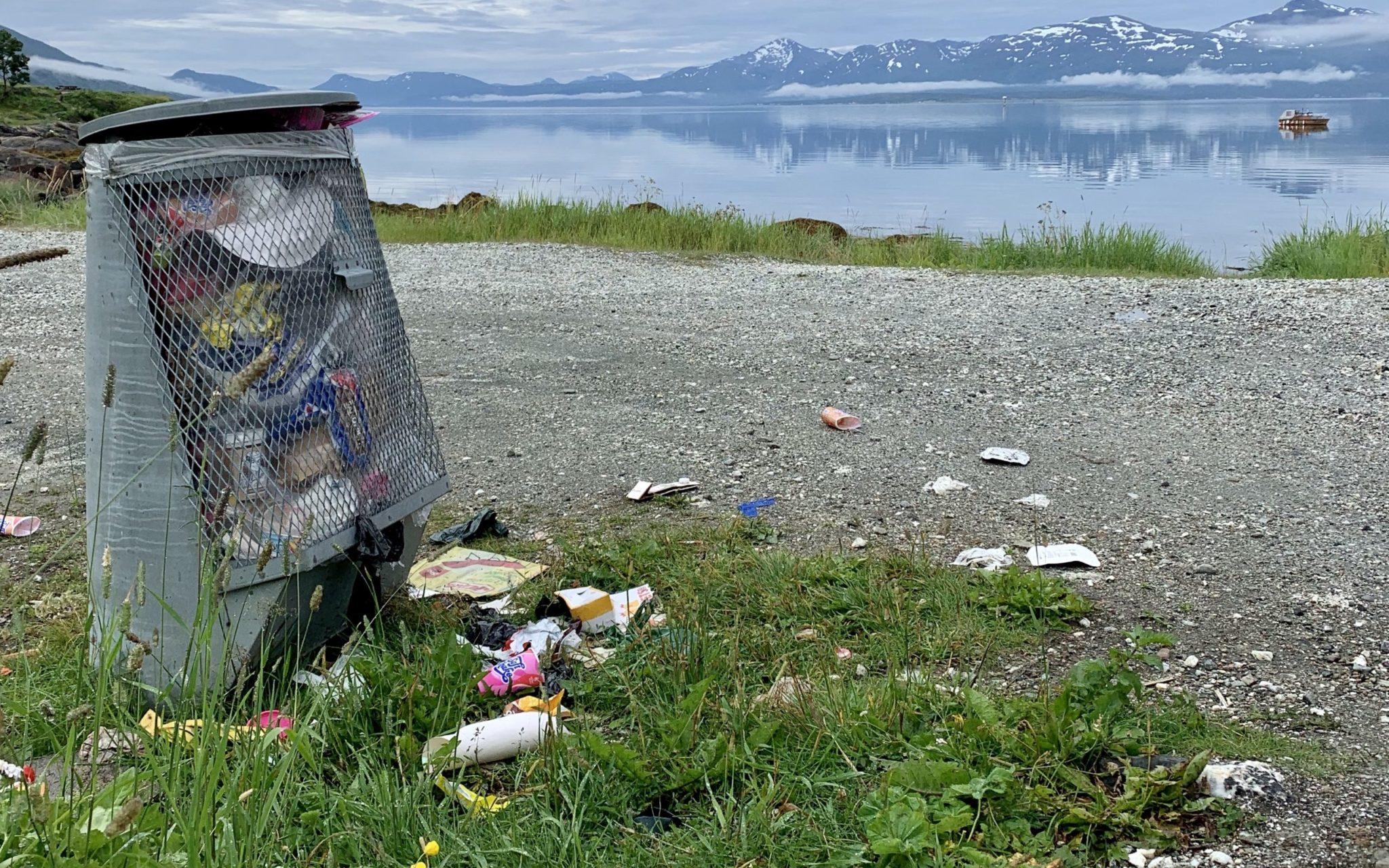 Handelens miljøfond plastforsøpling Tromsø